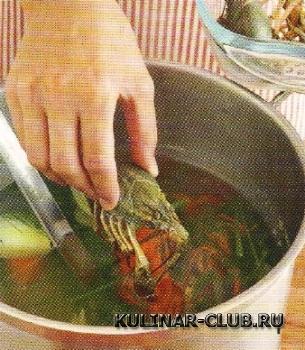 Раковый салат