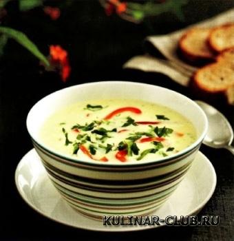 Картофельный суп с луком