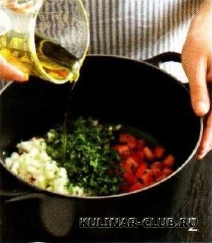 Палтус с томатным соусом