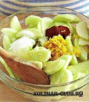 Яблочная шарлотка по-американски
