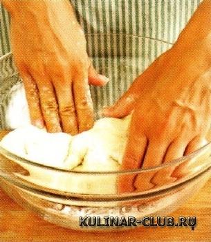 Жареные пирожки с маслинами