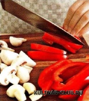 Омлет с овощами по-итальянски