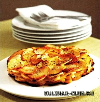 Золотистый картофель