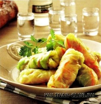 Квашеные овощные голубцы