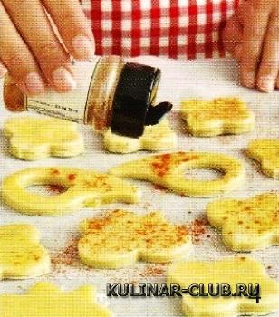 Острое сырное печенье