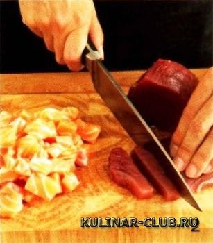 Севиче из тунца и лосося