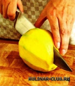 Курица с манго