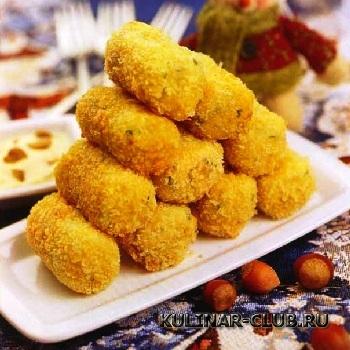 Картофельно-ореховые крокеты