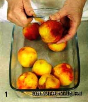 Джем из персиков
