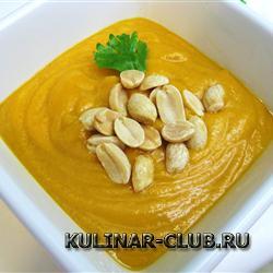 Африканский суп с арахисом