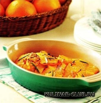 Грудка индейки с апельсиновым соусом